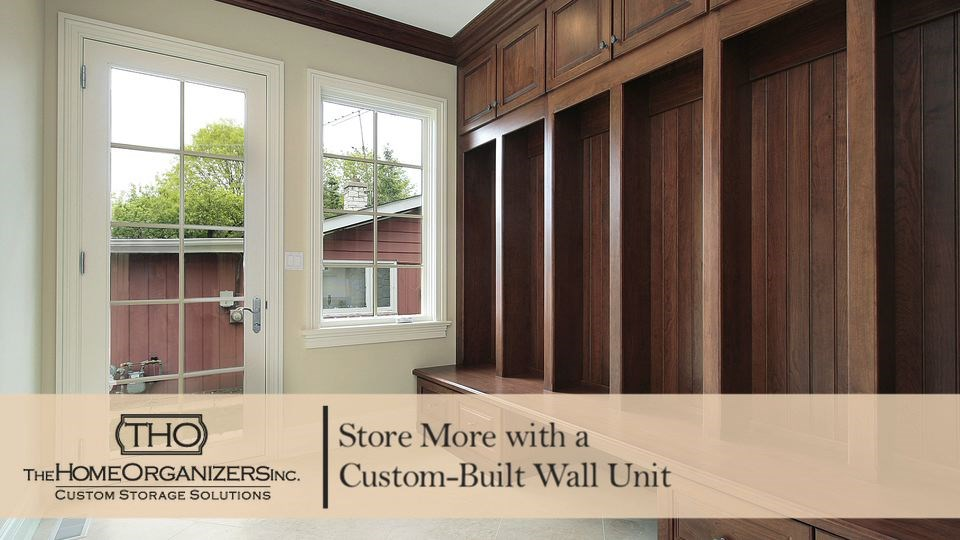Custom-Built Wall Unit A Permanent Space Saving Solution