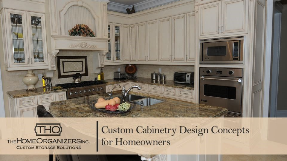 Custom Cabinetry Design Concepts for Homeowners