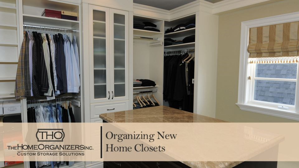 Organize Your New Home's Closets